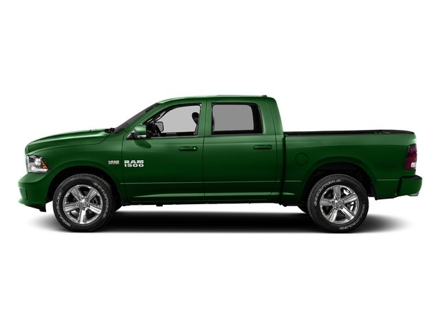 Tree Green 2016 Ram Truck 1500 Pictures 1500 Crew Cab Outdoorsman 4WD photos side view
