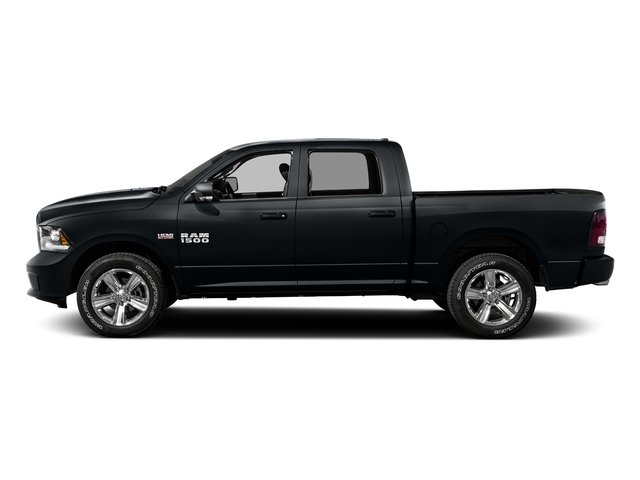 Maximum Steel Metallic Clearcoat 2016 Ram Truck 1500 Pictures 1500 Crew Cab Express 2WD photos side view