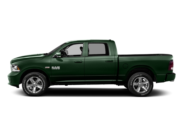 Timberline Green Pearlcoat 2016 Ram Truck 1500 Pictures 1500 Crew Cab Express 2WD photos side view