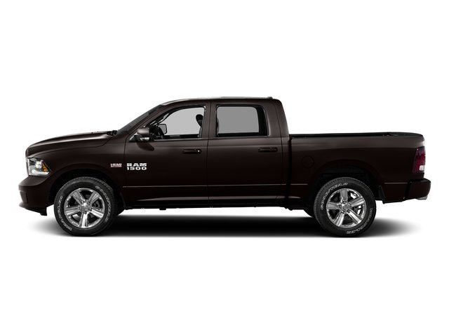 Luxury Brown Pearlcoat 2016 Ram Truck 1500 Pictures 1500 Crew Cab Outdoorsman 4WD photos side view