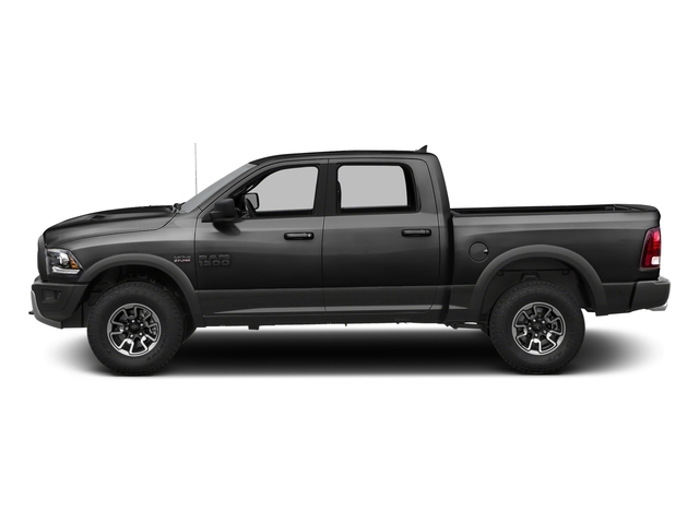 Brilliant Black Crystal Pearlcoat 2016 Ram Truck 1500 Pictures 1500 Crew Cab Rebel 2WD photos side view