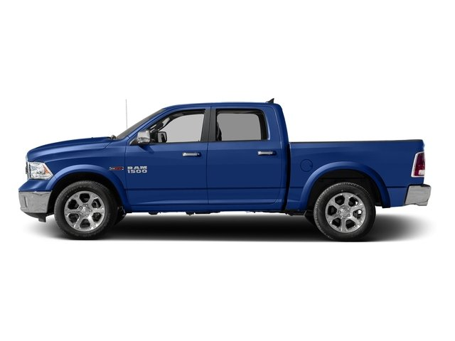Blue Streak Pearlcoat 2016 Ram Truck 1500 Pictures 1500 Crew Cab Laramie 2WD photos side view