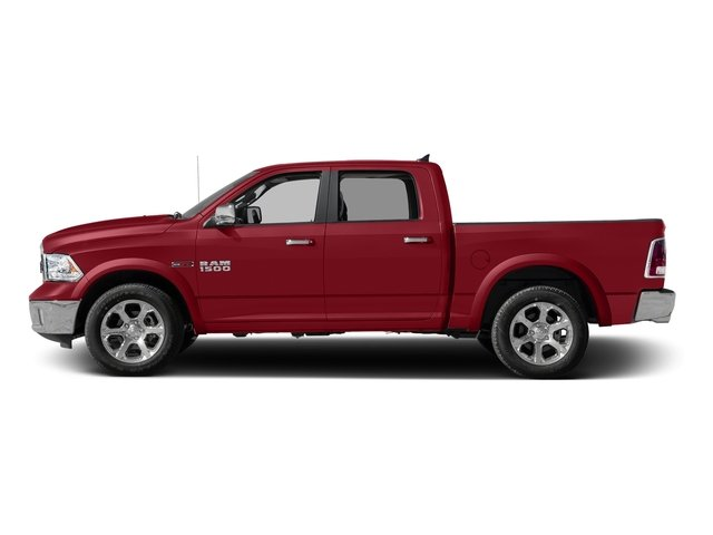 Flame Red Clearcoat 2016 Ram Truck 1500 Pictures 1500 Crew Cab Laramie 2WD photos side view