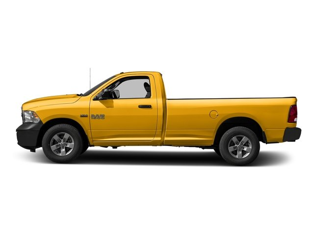 Construction Yellow 2016 Ram Truck 1500 Pictures 1500 Regular Cab Express 2WD photos side view