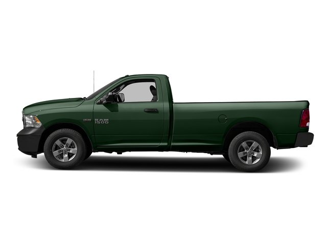 Timberline Green Pearlcoat 2016 Ram Truck 1500 Pictures 1500 Regular Cab Express 2WD photos side view