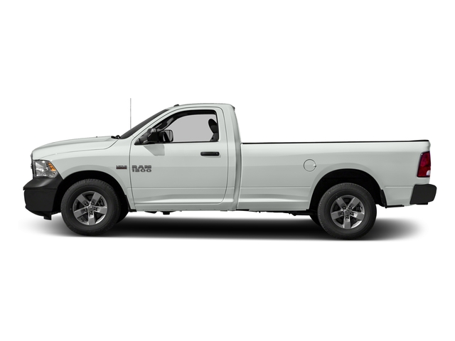 Bright White Clearcoat 2016 Ram Truck 1500 Pictures 1500 Regular Cab Express 2WD photos side view