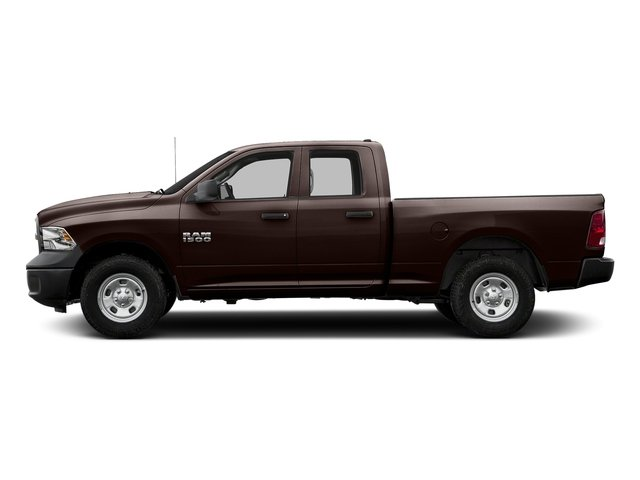 Dark Brown 2016 Ram Truck 1500 Pictures 1500 Quad Cab Tradesman 4WD photos side view