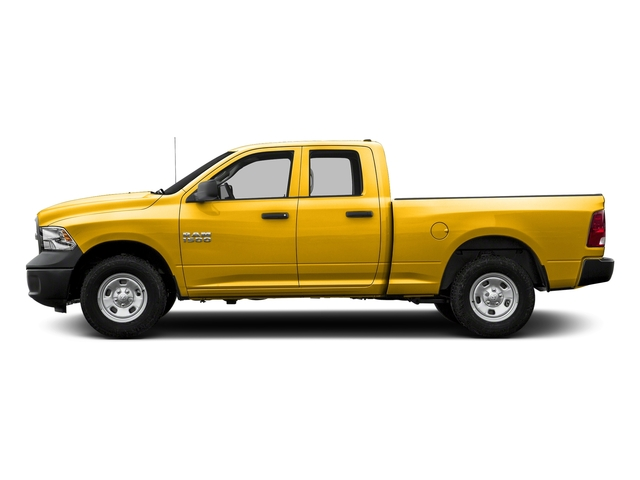 Yellow 2016 Ram Truck 1500 Pictures 1500 Quad Cab Tradesman 4WD photos side view