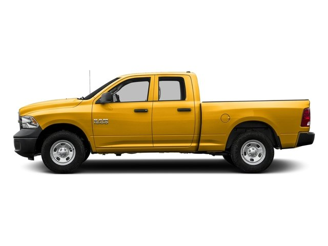 Construction Yellow 2016 Ram Truck 1500 Pictures 1500 Quad Cab Tradesman 2WD photos side view