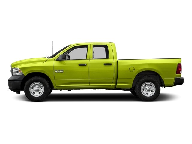 National Safety Yellow 2016 Ram Truck 1500 Pictures 1500 Quad Cab Tradesman 4WD photos side view
