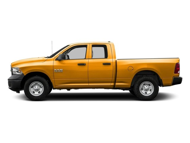 School Bus Yellow 2016 Ram Truck 1500 Pictures 1500 Quad Cab Tradesman 4WD photos side view