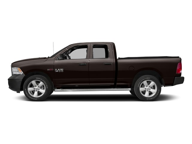 Luxury Brown Pearlcoat 2016 Ram Truck 1500 Pictures 1500 Quad Cab HFE 2WD V6 T-Diesel photos side view