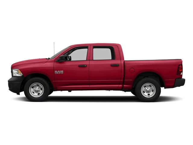 Agriculture Red 2016 Ram Truck 1500 Pictures 1500 Crew Cab Tradesman 2WD photos side view