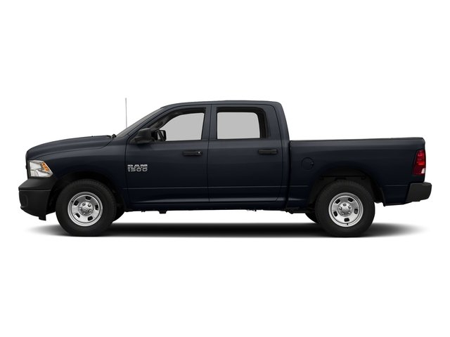 Midnight Blue Pearlcoat 2016 Ram Truck 1500 Pictures 1500 Crew Cab Tradesman 2WD photos side view