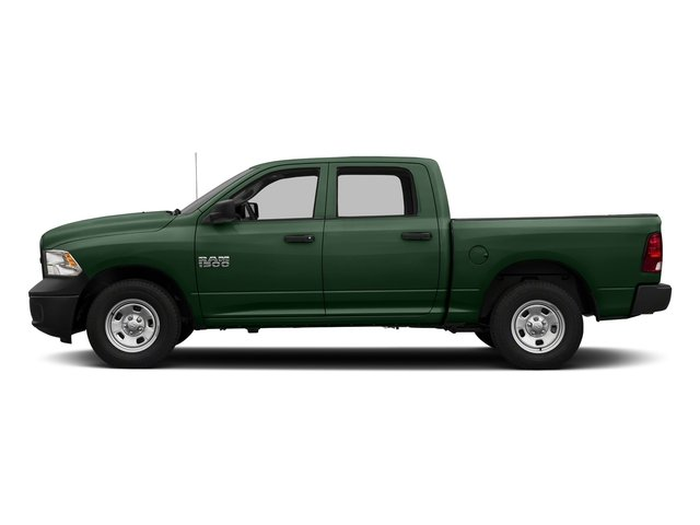 Timberline Green Pearlcoat 2016 Ram Truck 1500 Pictures 1500 Crew Cab Tradesman 2WD photos side view