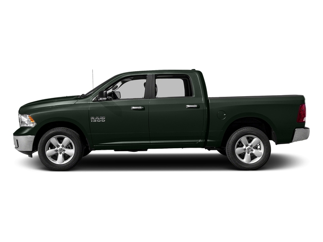 Black Forest Green Pearlcoat 2016 Ram Truck 1500 Pictures 1500 Crew Cab SLT 2WD photos side view
