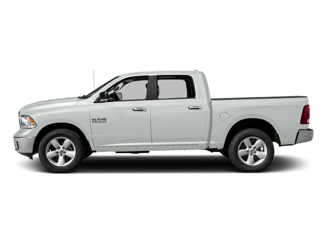 Bright White Clearcoat 2016 Ram Truck 1500 Pictures 1500 Crew Cab SLT 2WD photos side view