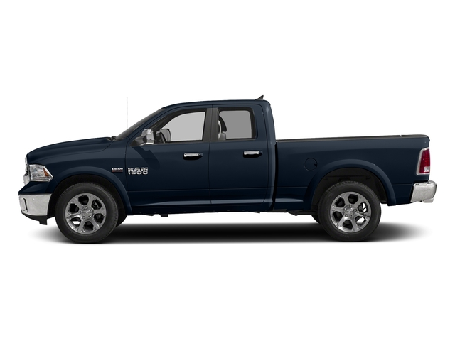 True Blue Pearlcoat 2016 Ram Truck 1500 Pictures 1500 Quad Cab Laramie 2WD photos side view