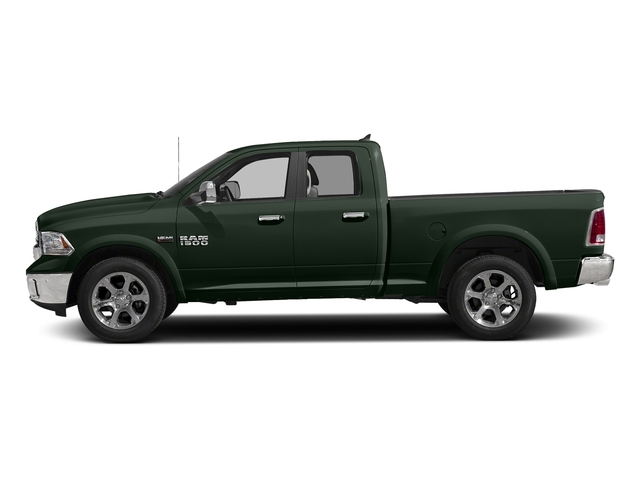 Black Forest Green Pearlcoat 2016 Ram Truck 1500 Pictures 1500 Quad Cab Laramie 2WD photos side view
