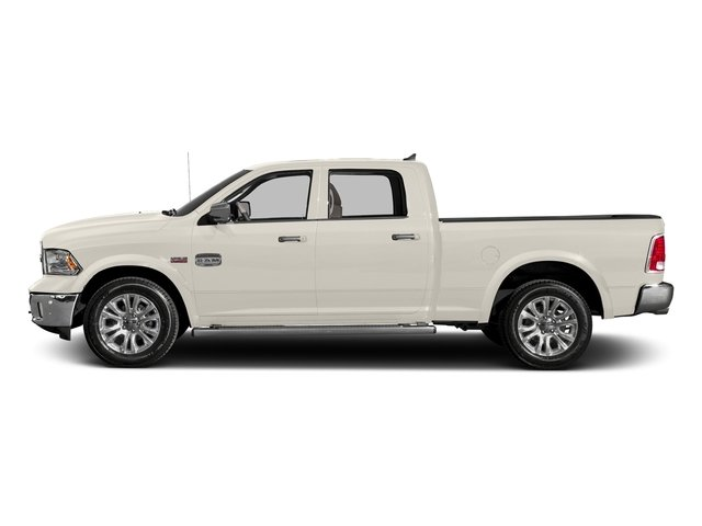 Pearl White 2016 Ram Truck 1500 Pictures 1500 Crew Cab Limited 2WD photos side view
