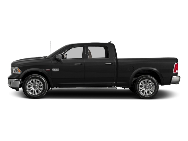 Brilliant Black Crystal Pearlcoat 2016 Ram Truck 1500 Pictures 1500 Crew Cab Limited 4WD photos side view