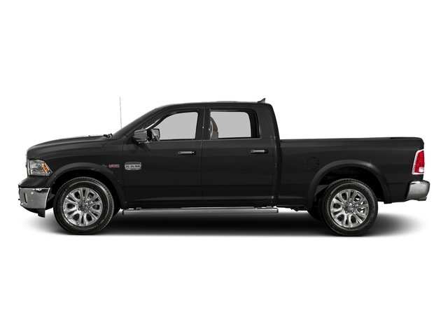 Brilliant Black Crystal Pearlcoat 2016 Ram Truck 1500 Pictures 1500 Crew Cab Limited 2WD photos side view