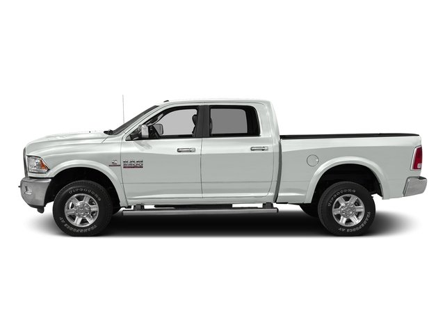 Bright White Clearcoat 2016 Ram Truck 2500 Pictures 2500 Crew Cab Laramie 2WD photos side view