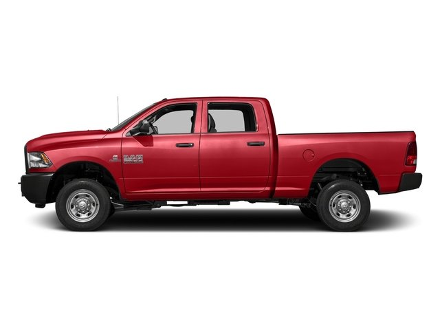 Bright Red 2016 Ram Truck 2500 Pictures 2500 Crew Cab Tradesman 4WD photos side view