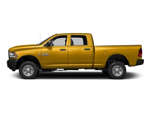 School Bus Yellow 2016 Ram Truck 2500 Pictures 2500 Crew Cab Tradesman 4WD photos side view
