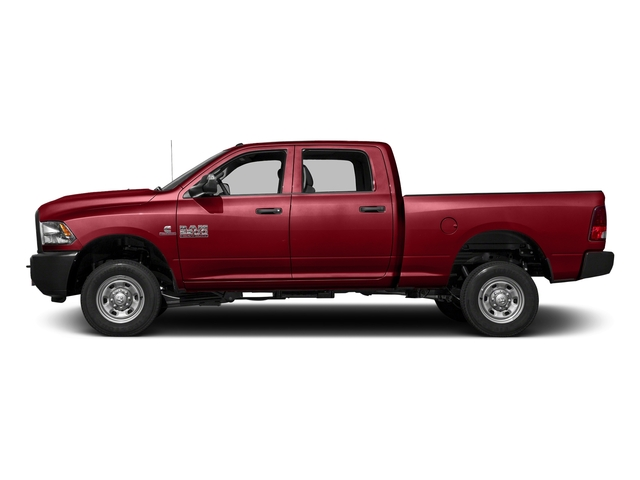 Flame Red Clearcoat 2016 Ram Truck 2500 Pictures 2500 Crew Cab Tradesman 4WD photos side view