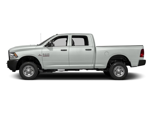 Bright White Clearcoat 2016 Ram Truck 2500 Pictures 2500 Crew Cab Tradesman 4WD photos side view