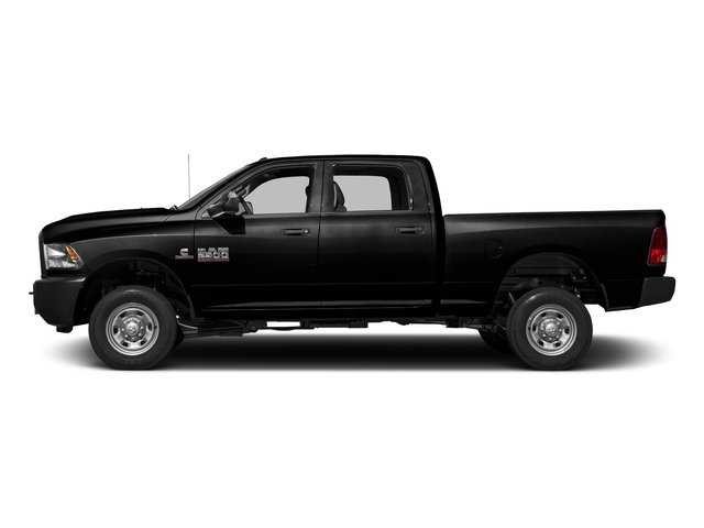 Black Clearcoat 2016 Ram Truck 2500 Pictures 2500 Crew Cab Tradesman 4WD photos side view