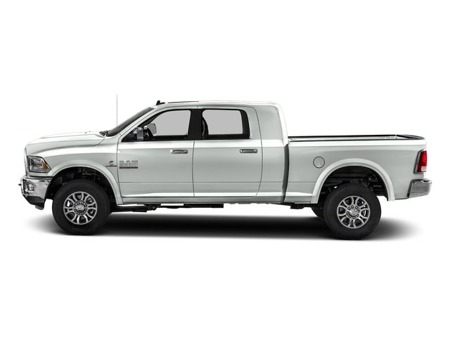 Bright White Clearcoat 2016 Ram Truck 2500 Pictures 2500 Mega Cab Laramie 2WD photos side view