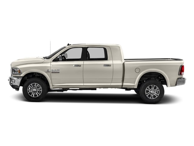 Pearl White 2016 Ram Truck 2500 Pictures 2500 Mega Cab Laramie 4WD photos side view