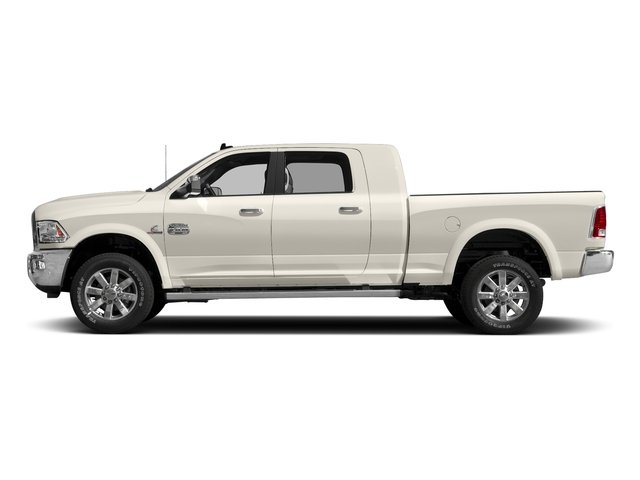 Pearl White 2016 Ram Truck 2500 Pictures 2500 Mega Cab Longhorn 4WD photos side view