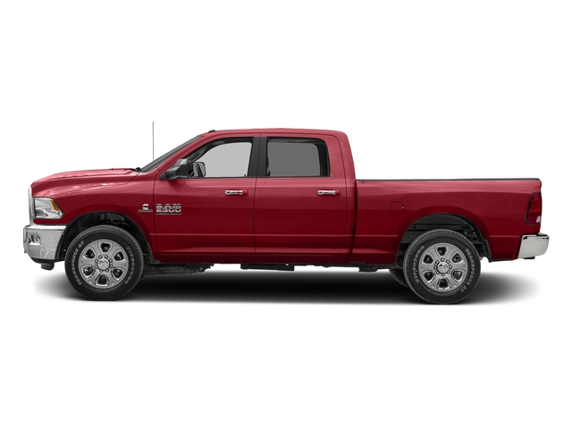 Flame Red Clearcoat 2016 Ram Truck 2500 Pictures 2500 Crew Cab SLT 4WD photos side view
