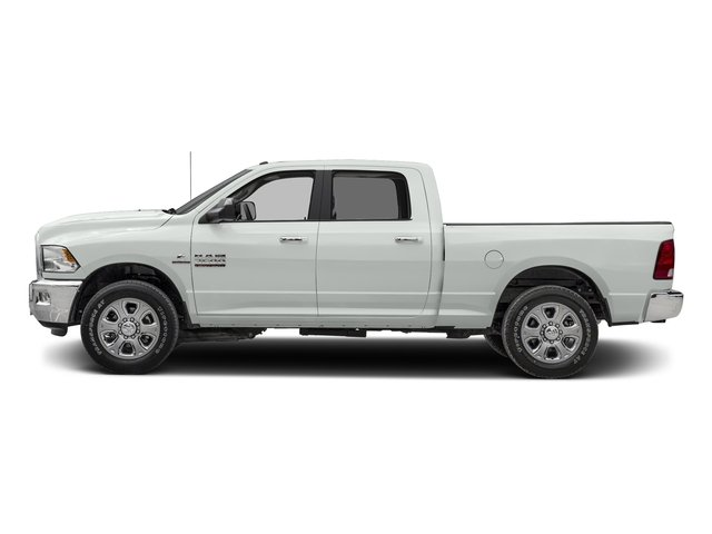 Bright White Clearcoat 2016 Ram Truck 2500 Pictures 2500 Crew Cab SLT 4WD photos side view