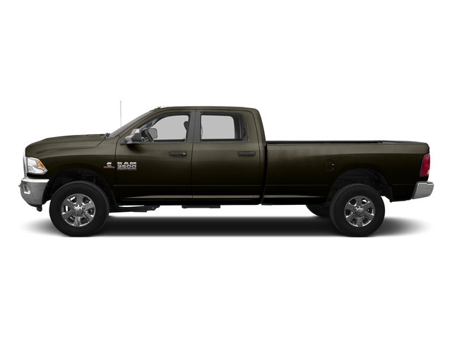Dark Brown 2016 Ram Truck 3500 Pictures 3500 Crew Cab SLT 2WD photos side view