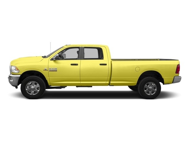 Bright Green 2016 Ram Truck 3500 Pictures 3500 Crew Cab SLT 4WD photos side view