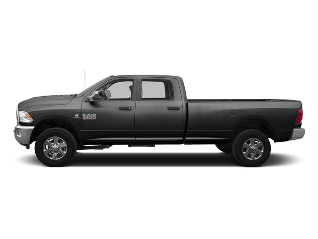 Granite Crystal Metallic Clearcoat 2016 Ram Truck 3500 Pictures 3500 Crew Cab SLT 4WD photos side view