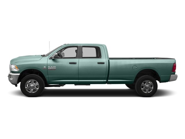 Light Green 2016 Ram Truck 3500 Pictures 3500 Crew Cab SLT 4WD photos side view
