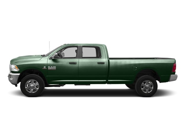 Timberline Green Pearlcoat 2016 Ram Truck 3500 Pictures 3500 Crew Cab SLT 4WD photos side view