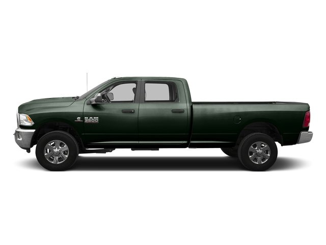 Black Forest Green Pearlcoat 2016 Ram Truck 3500 Pictures 3500 Crew Cab SLT 2WD photos side view