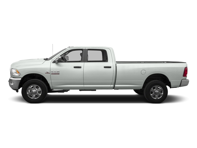 Bright White Clearcoat 2016 Ram Truck 3500 Pictures 3500 Crew Cab SLT 4WD photos side view