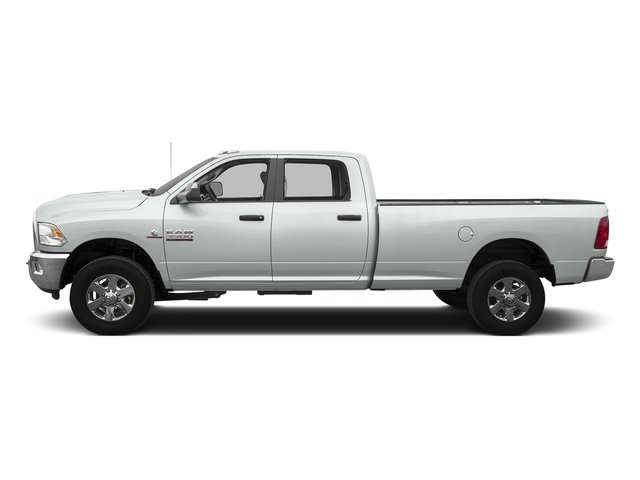 Bright White Clearcoat 2016 Ram Truck 3500 Pictures 3500 Crew Cab SLT 2WD photos side view