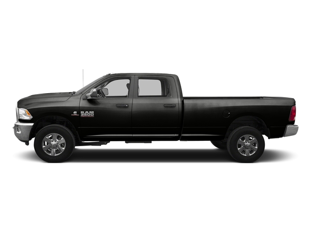 Black Clearcoat 2016 Ram Truck 3500 Pictures 3500 Crew Cab SLT 2WD photos side view