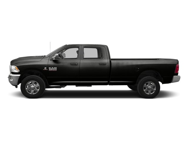Black Clearcoat 2016 Ram Truck 3500 Pictures 3500 Crew Cab SLT 4WD photos side view