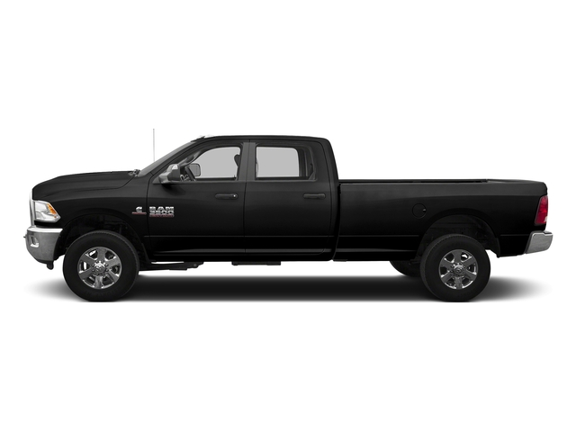 Brilliant Black Crystal Pearlcoat 2016 Ram Truck 3500 Pictures 3500 Crew Cab SLT 4WD photos side view