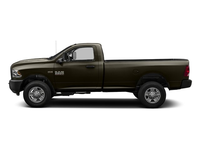 Dark Brown 2016 Ram Truck 3500 Pictures 3500 Regular Cab SLT 2WD photos side view