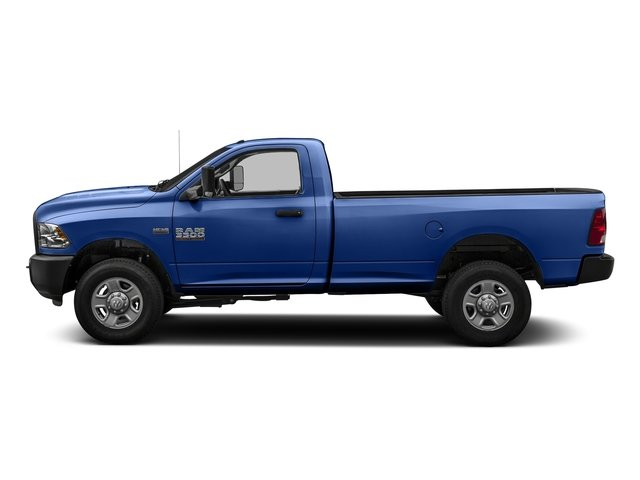 Blue Streak Pearlcoat 2016 Ram Truck 3500 Pictures 3500 Regular Cab SLT 2WD photos side view